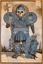 2012 Jack White - London V Silkscreen Concert Poster by Rob Jones S/N stripes