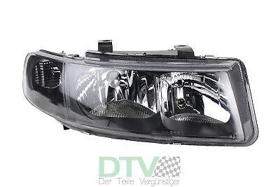 LWR 99-05 H7+H1 elektr Leon 1M Bj Scheinwerfer Set schwarz für Seat Toledo