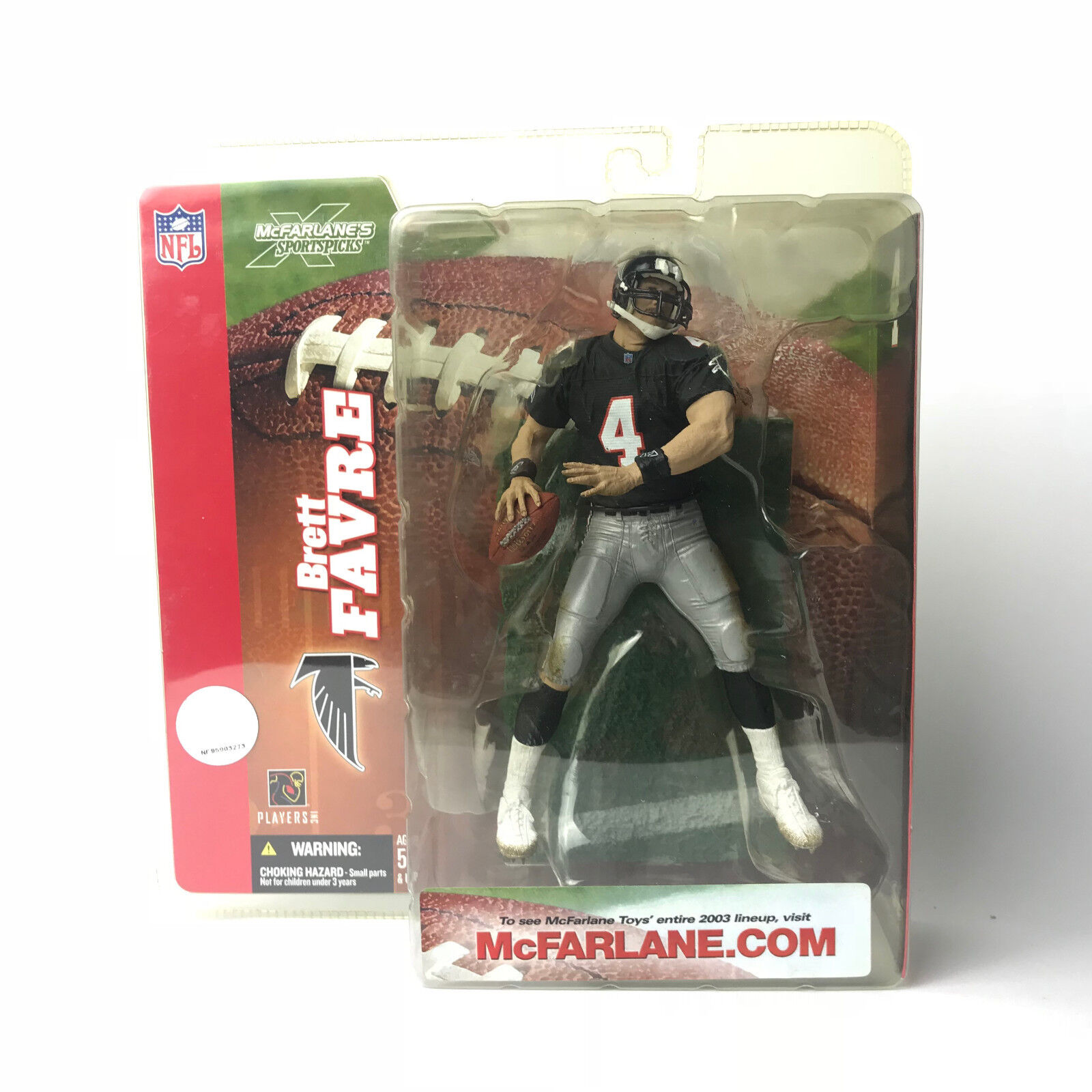 Brett Favre McFarlane NFL - Series 6 Exclusive - Falcons Uniform