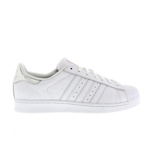 Adidas plata cuero S80341 deporte Superstar de de Zapatillas blanco caqygF6IWK