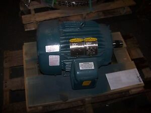New baldor super e 7 5 hp electric motor 460 vac 1765 rpm for 7 5 hp 3 phase motor