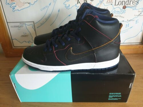 caballeros Uk Dunk Sb Nba Nike 10 Us High Eu 11 Pro 45 Negro YxIx0w