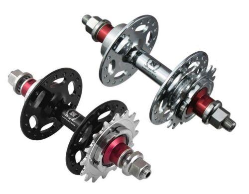 TOP NOVATEC A186SBT Rear Track Fixed Gear Flip Flop Fixed /& Freewheel Bike Hub