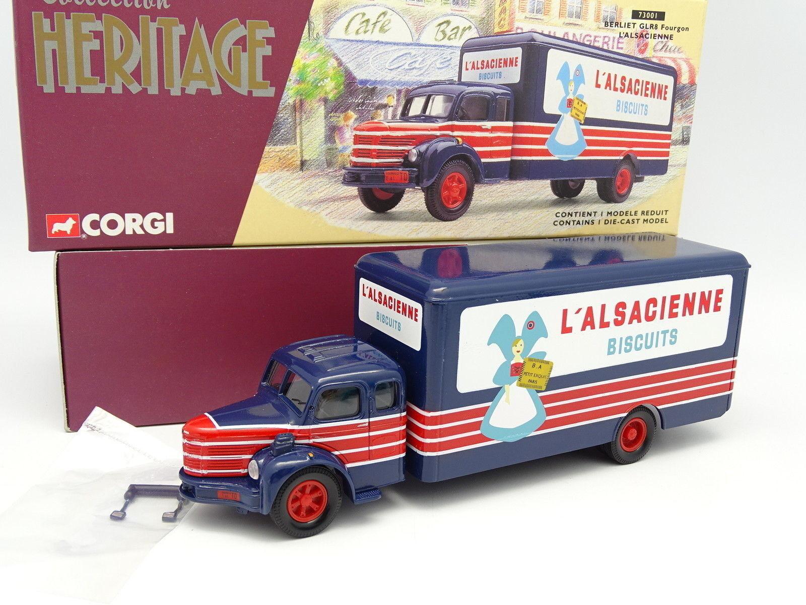 Corgi Heritage 1 50 - BERLIET RL 8 Alsace