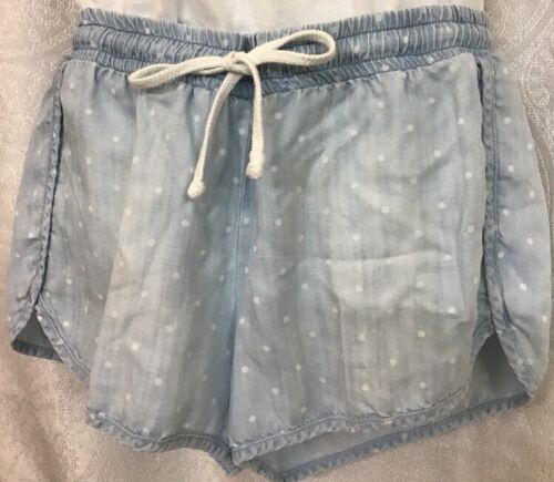 Shorts bianco Dahl Taglia Dot S Tencel e Blu Bella 7qzwAx