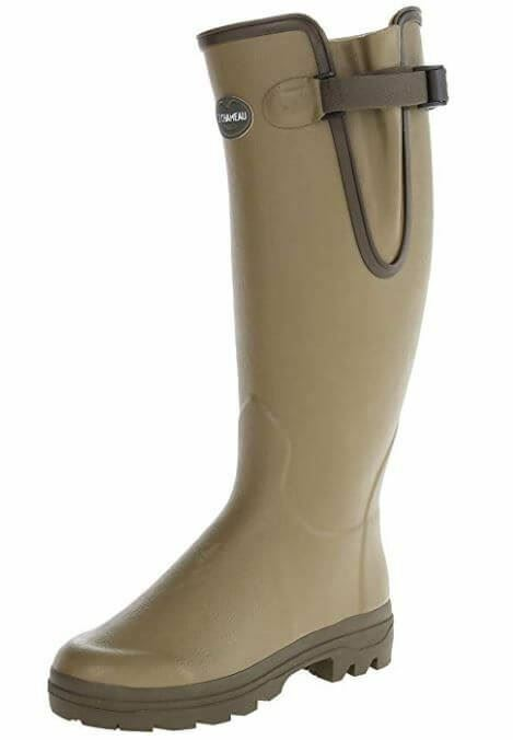 Le Chameau Mens Vierzon Leather Lined Wellingtons Boots (Hunting Walking)