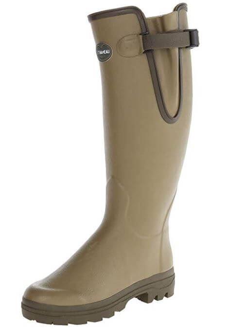 Le Chameau Mens Vierzon Leather  Lined Wellingtons Boots (Hunting Walking)  online-shop
