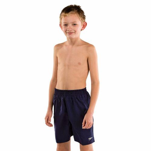 Speedo Kids Boys Leisure Shorts Swim Pants Trousers Bottoms Mesh Quick Drying