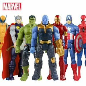 Spiderman-Iron-Man-Thor-Captain-America-Wolverine-action-figure-Marvel-Avengers
