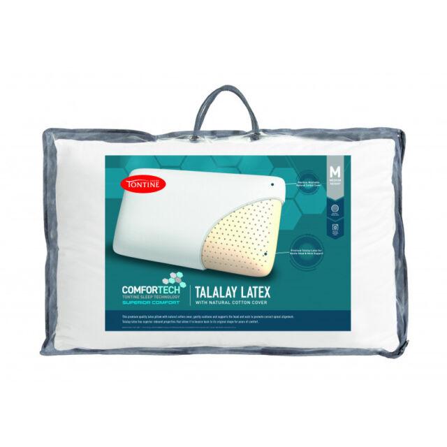 Tontine Comfortech Premium Talalay Latex Medium Profile & Feel Pillow RRP $89.95