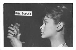 B55573 Beba Loncar Acteurs Actors 9x7cm
