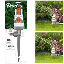 Rasensprenger 4 Strahltypen Impulsregner Kreisregner Rasen Sprenger Sprinkler