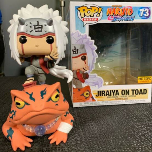 Jiraiya on Toad US Exclusive Pop Ride Naruto Shippuden