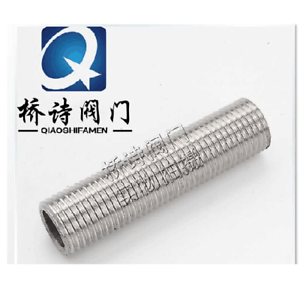 1-2-034-NPS-Full-Thread-Nipple-50MM-L-Stainless-Steel-304-Pipe-Fitting-Homebrew