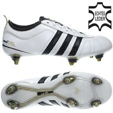super popular 1983c 12178 Adidas ADIPURE IV SG white blue black studs cleats football boots