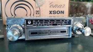 Radio-VOXSON-Sonar-Stereo-8-Giranastri-Auto-d-039-epoca-GN-103-S-Altop-NUOVO-NOS