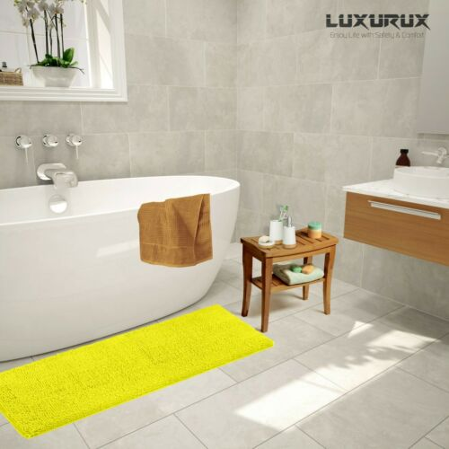Bath Shower Bathroom Rug LuxUrux Bath mat-Extra-Soft Plush Large 27 x 47/'/'