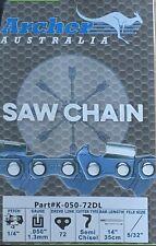 "16/"" Chainsaw Chain 1//4/"" .050 80 Drive Links replaces 25AP080G E1MC-80E 13RM80"