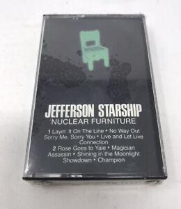 Jefferson StarShip Nuclear Furniture Cassette Audio Tape - RCA Records 1984 -NEW