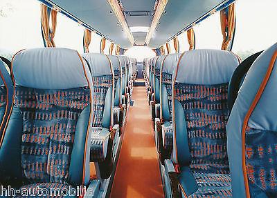 Poster & Bilder Auto & Motorrad: Teile UnermüDlich Pressefoto Reisebus Neoplan Starliner N 516/3 Shdhc Innenansicht 2002 Werks-foto Dinge Bequem Machen FüR Kunden