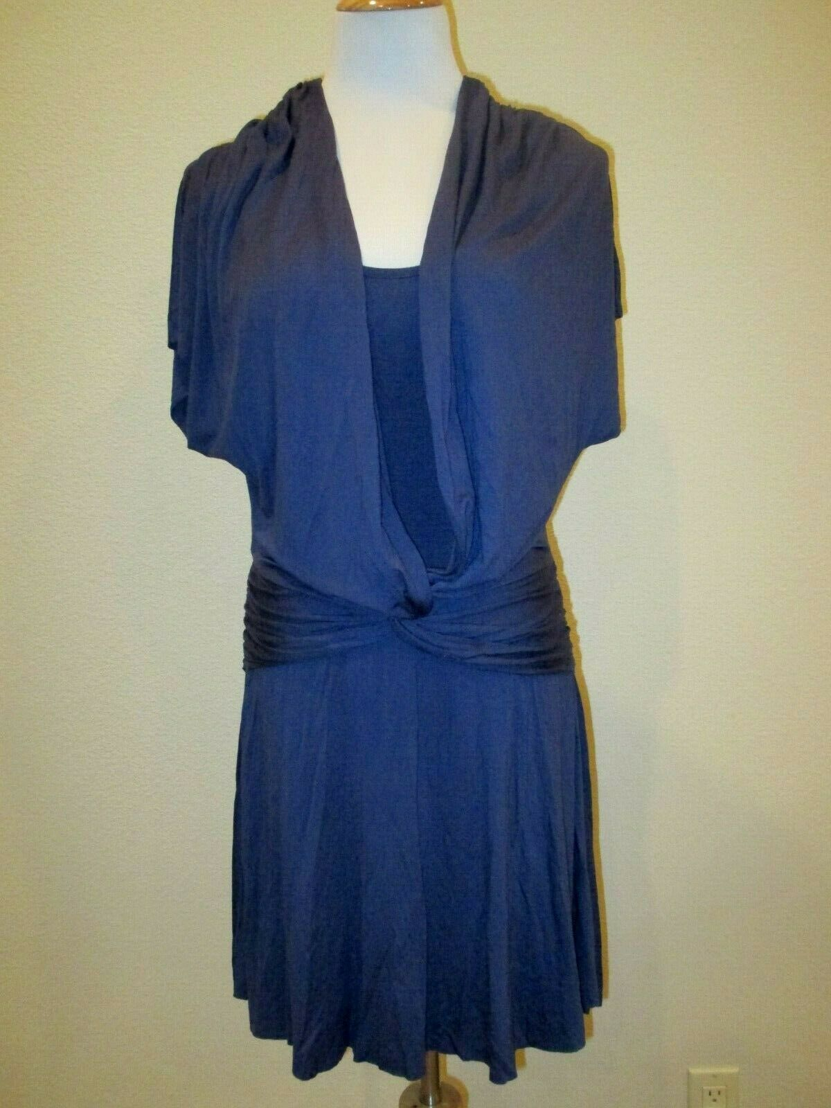 Three Dots Twist Front  Dress- Size Large- EUC