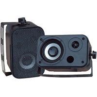 Pyle Pdwr30b 3.5 Indoor/outdoor Waterproof Speaker Pr Black on sale