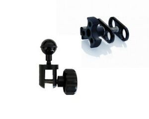 """Mozaik - YS to BJ Adapter - Mount 1"""" Ball on YS Flex Arm with Clamp"""