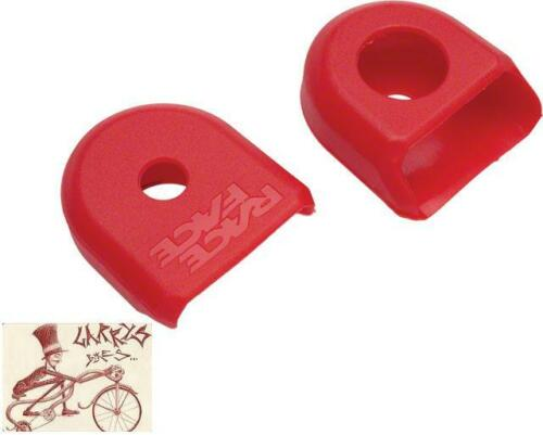 RACE FACE LARGE RED BICYCLE CRANK BOOTS---2 IN A PACK