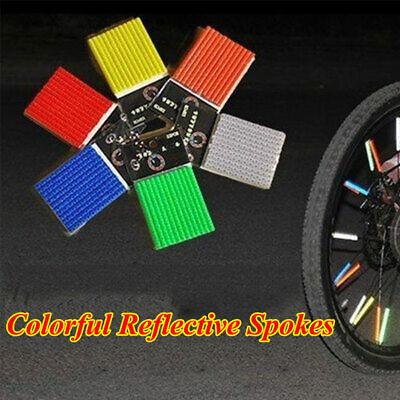 Safety Warning Tube Bicycle Reflective Tube Wheel Rim Spoke Reflector Tape Rod