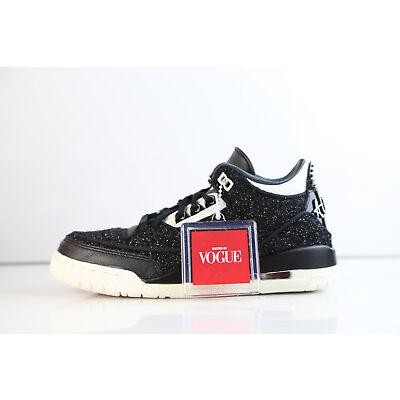 Womens Air Jordan Retro 3 RTR SE NRG Vogue AWOK Black White BQ3195-001 5-12 1