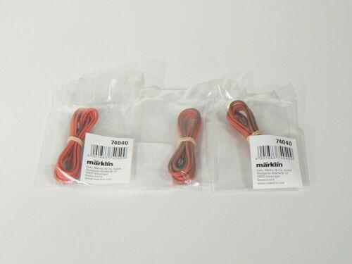 nuevo embalaje original 3 x puerto muebles para C vía cable de conexión Märklin h0 74040