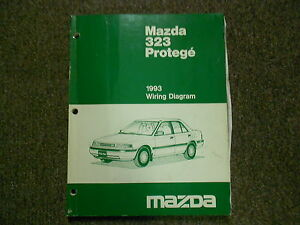 image is loading 1993-mazda-323-protege-electrical-wiring-diagram-service-