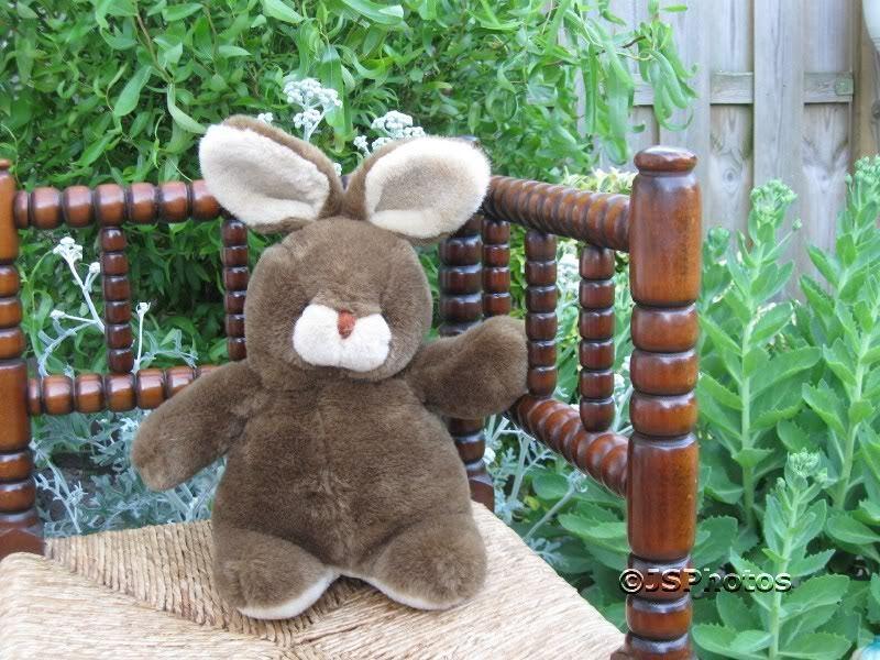 Dutch Netherlands marrone Bunny Rabbit Stuffed Plush