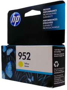 HP #952 L0S55A Yellow Ink Cartridge Genuine New 8710 8210 8720