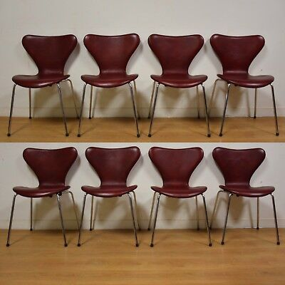 Groovy Red Leather And Chrome Dining Chairs Set Of 8 Mid Century Ebay Camellatalisay Diy Chair Ideas Camellatalisaycom