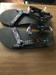 7f7c17a67981ab Teva Mens Original Universal 1008659 Inca Blue Sport Sandals Retail ...