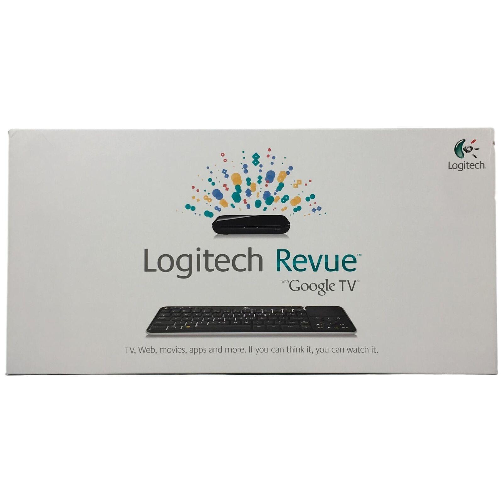 s-l1600 Logitech Revue Digital HD Google TV Media Player Streamer Keyboard Controller