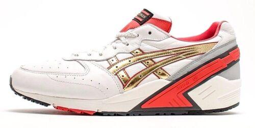 talla Sneakers Sight 12 H500l blanco 11 Asics de de Zapatillas 0294 deporte Gel cuero 8xaaCq