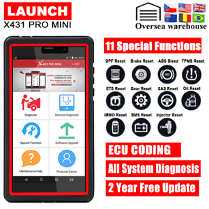 Details about LAUNCH X431 V Pro Mini Auto Car Diagnostic Scanner Tool Full  System Free Update