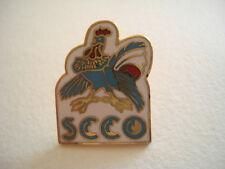 PINS RARE VINTAGE COQ CLUB SKATING COMPIEGNE PICARDIE OISE SCCO COCK wxc h