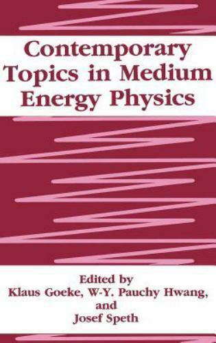 Contemporary Topics in Medium Energy Physics