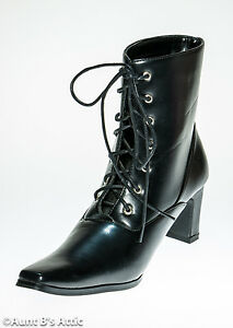 Witch Pointed Toe Boots
