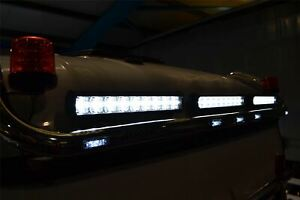 Pour-2015-Man-Tgx-Euro6-Xxl-Cab-Acier-Inoxydable-Toit-Barre-LED-Spot