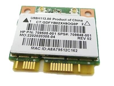 HP 15-F Series WiFi Wireless Card 709505-001
