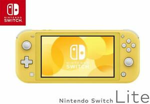 Nintendo-Switch-Lite-Yellow-Easy-to-Carry-Mobile-Game-Console-New-from-JAPAN
