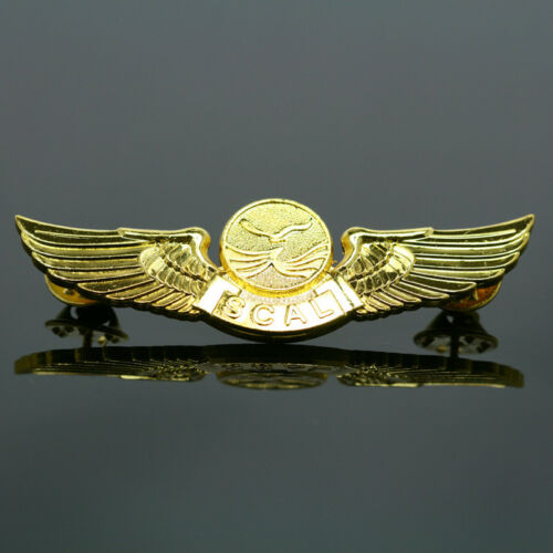 new rare china Air Sichuan Airlines  Flight attendant/'s badge pin