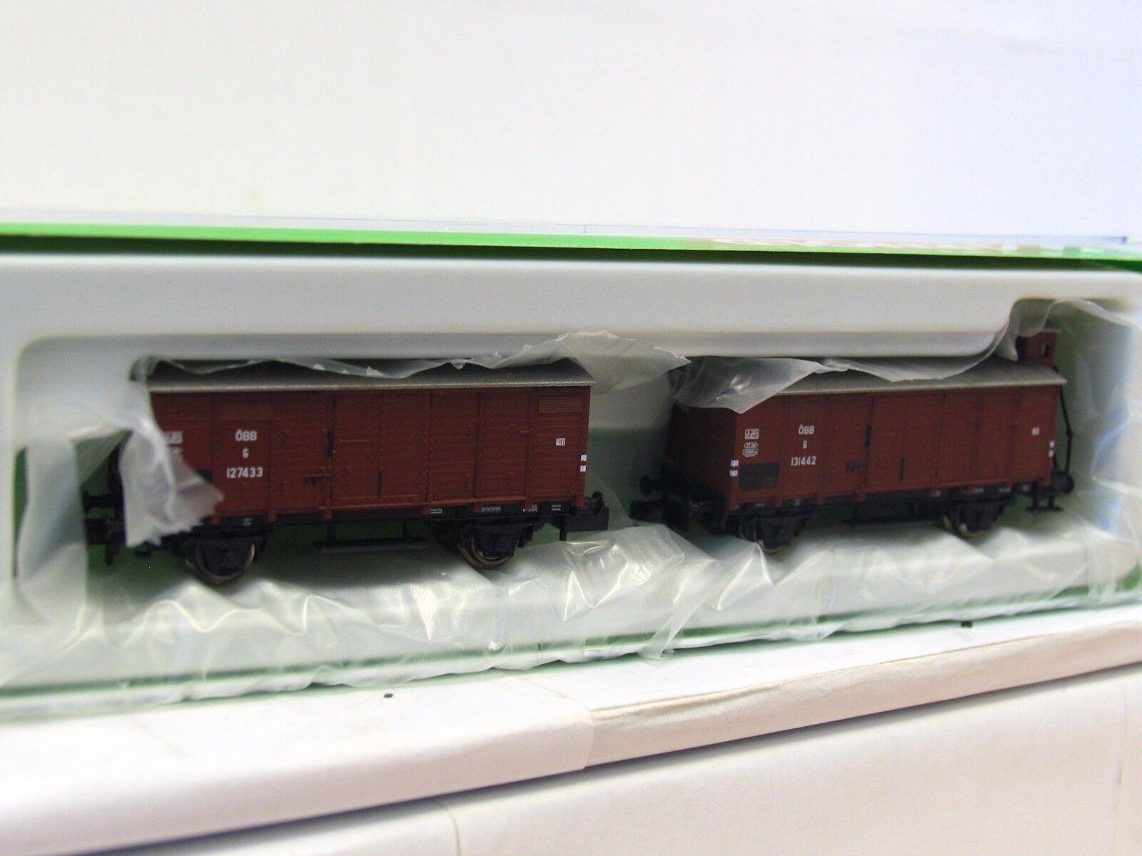 Arnold N HN6165 2er Set Güterwagen G10 ÖBB OVP (TR5056)