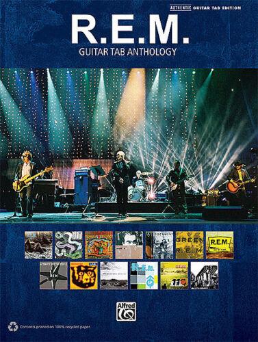 REM GUITAR ANTHOLOGY TAB SHEET MUSIC SONG BOOK R.E.M.