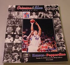 KU Jayhawk Basketball Program - Pepperdine Dec 18, 1997