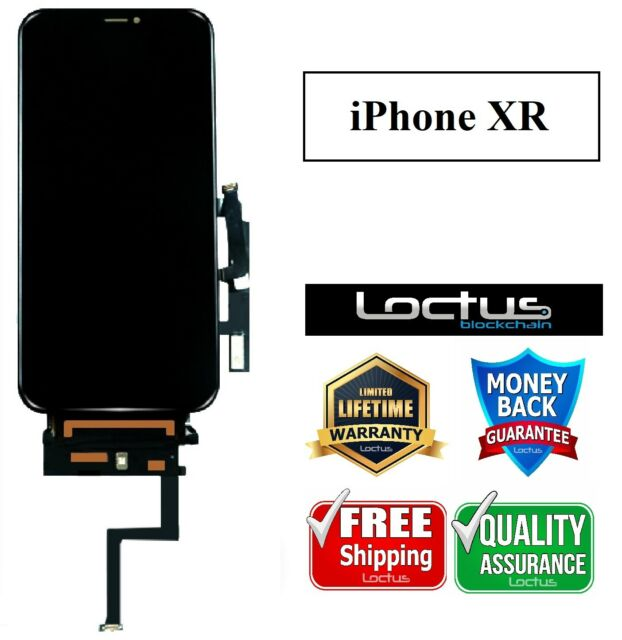 "Screen Replacement for iPhone XR 6.1"" LCD Display Lifetime Warranty"